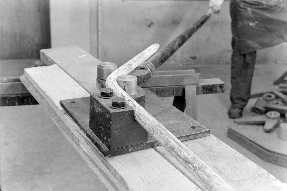 Ankerløkken mekaniske verksted, verktøy.