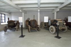 """Traktorutställning, """"Traktorer med drag"""",  visning av trakto"""