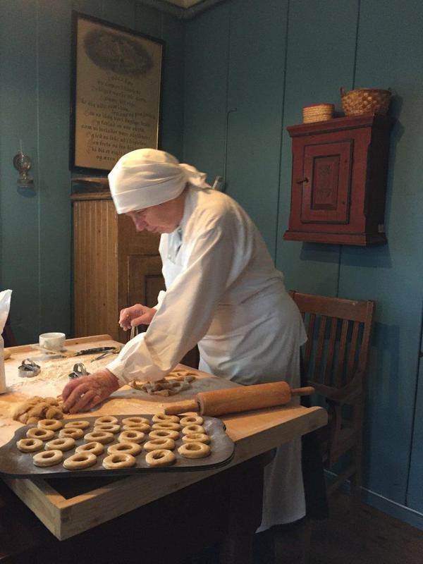 Baking av smultringer