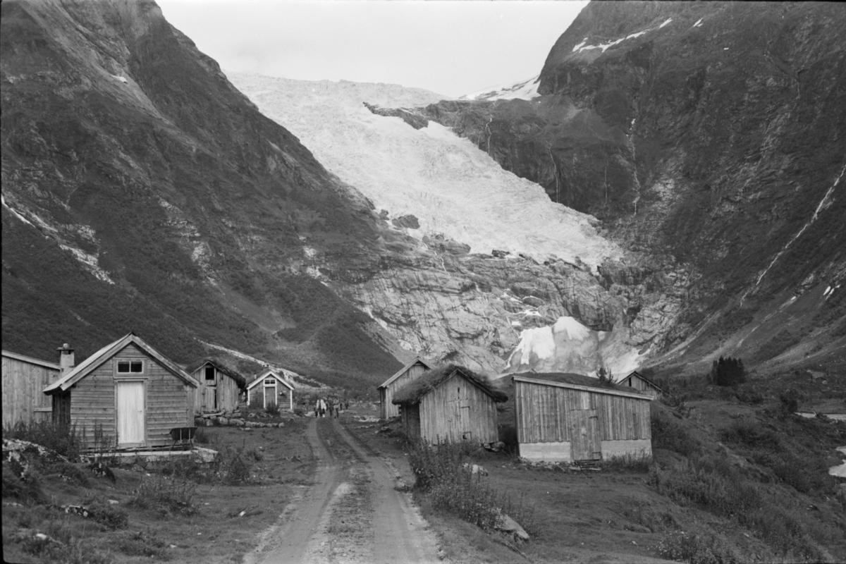 08 Fjærland. Bøyabreen 1974