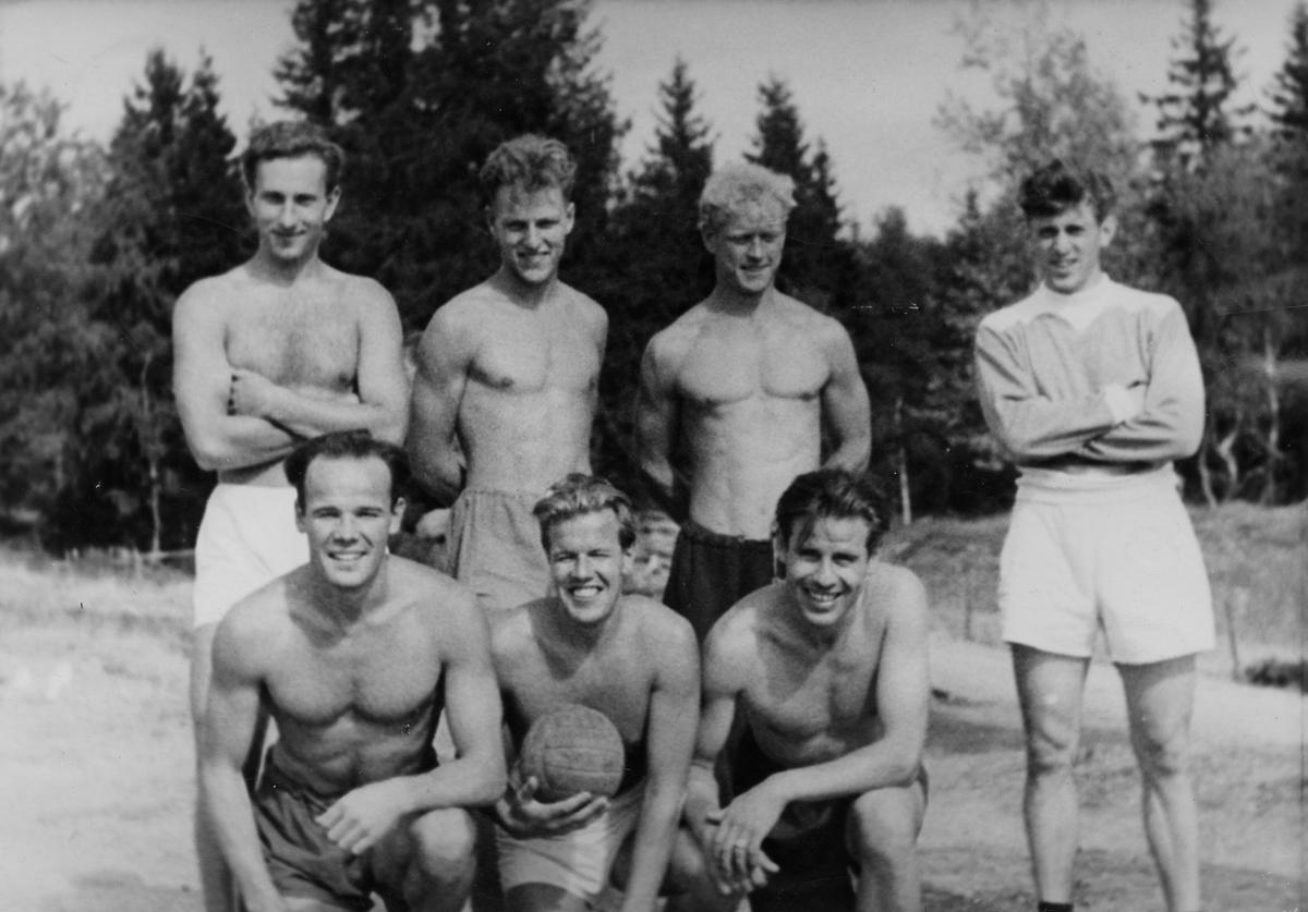 The fotball team of NSF