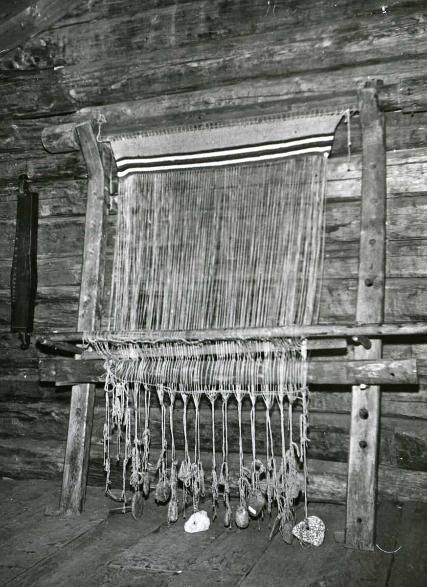 Oppstad-veven på Valdres Folkemuseum