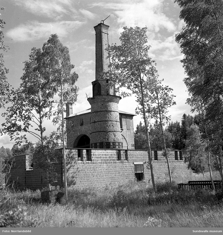 Galtströms gamla järnbruk. Exteriörbilder.