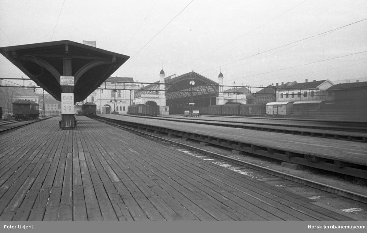 Oslo Ø, plattformene