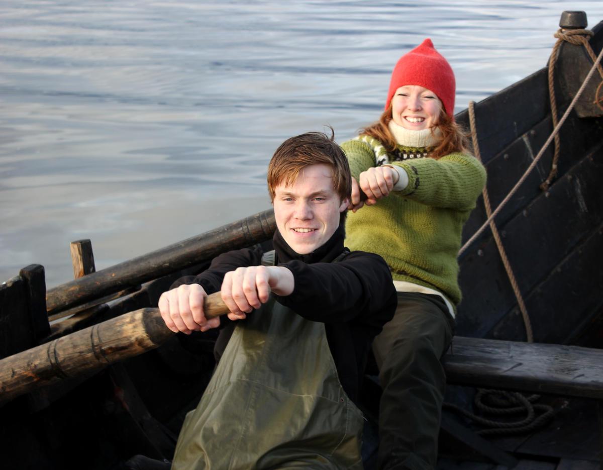 Life onboard an åfjordsbåt.