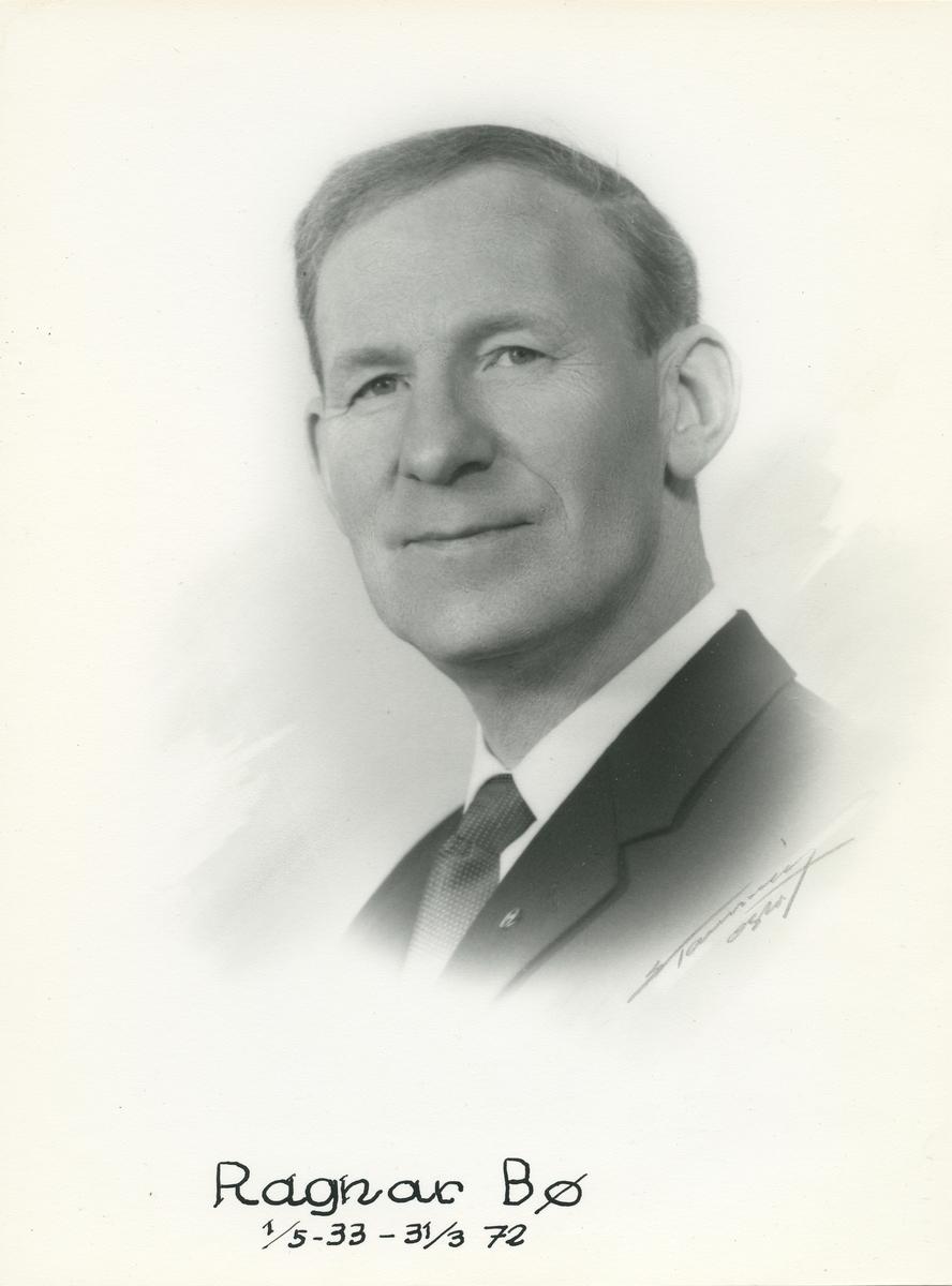 Ragnar Bø, portrett