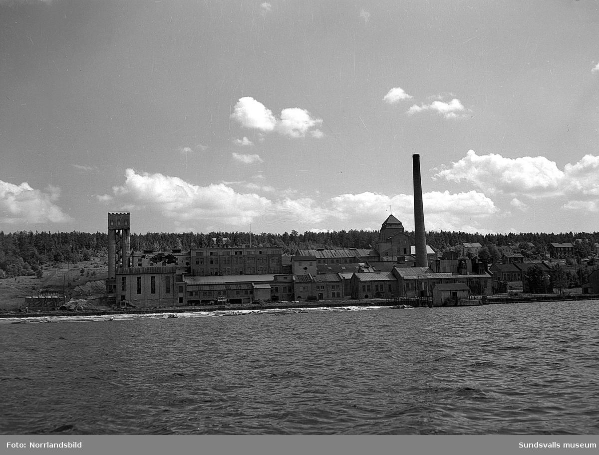 Nyhamns kemiska fabrik, exteriörbilder.