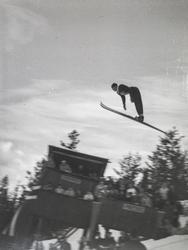 Fra dansk skiuke på Kongsberg