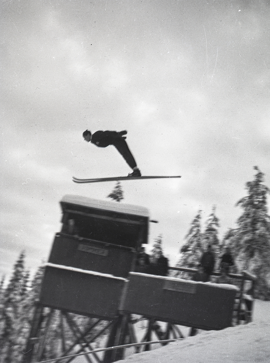 Kongsberg skier in action