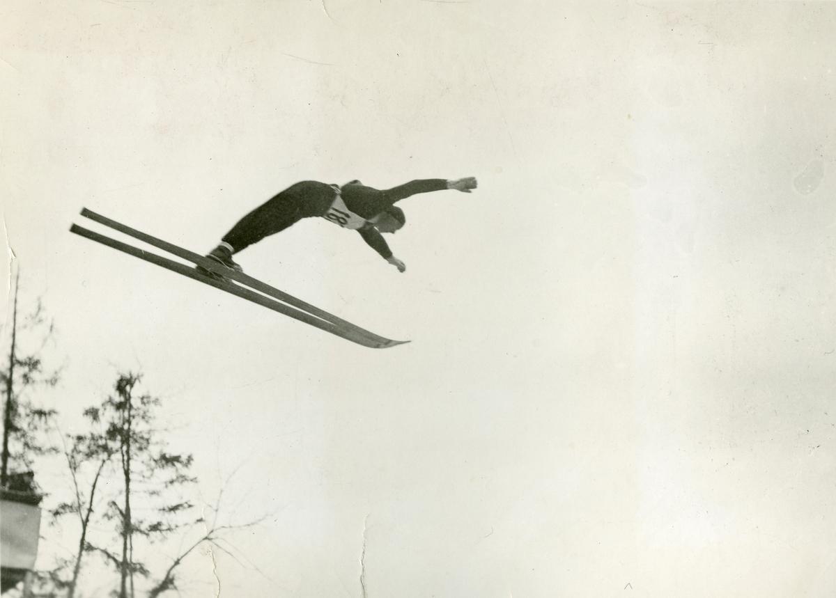 Ski jumper at Garmisch