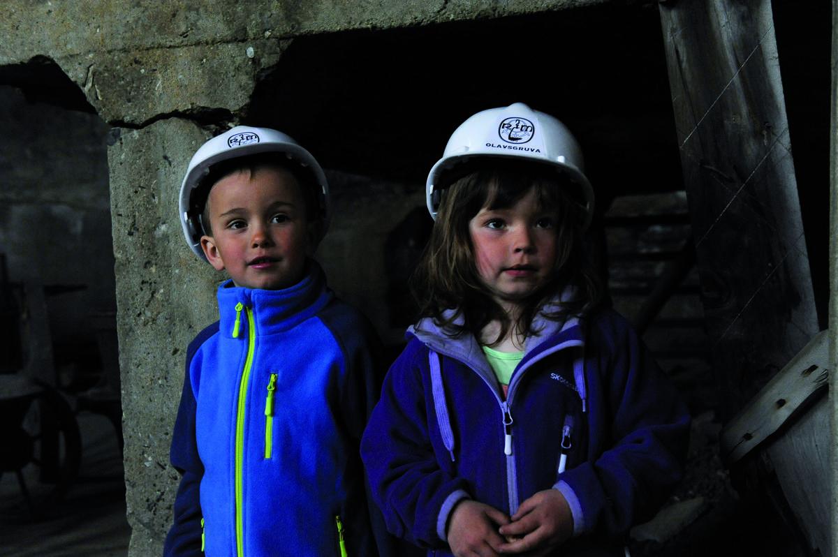 Olavsgruva barn (Foto/Photo)