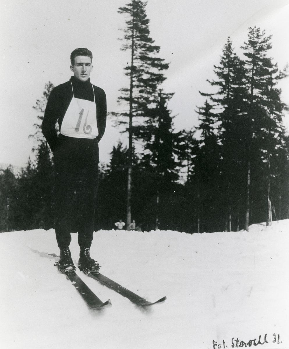 Kongsberg skier Torstein Stenbeck