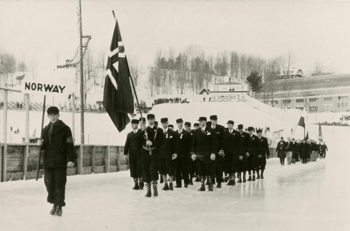 The Norwegian skiing team