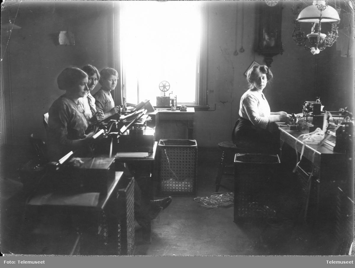 Telegrafstasjonen i Lødingen, 1906
