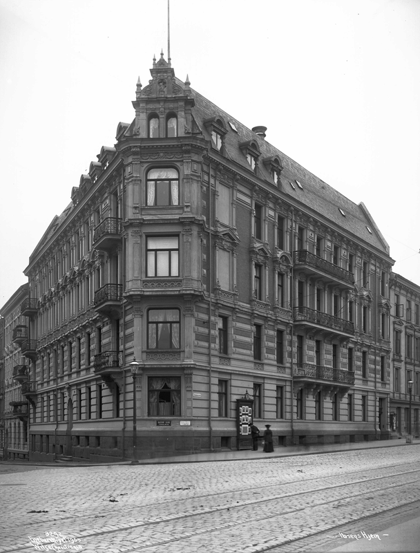 Arbins gate 1, where Henrik Ibsen lived.