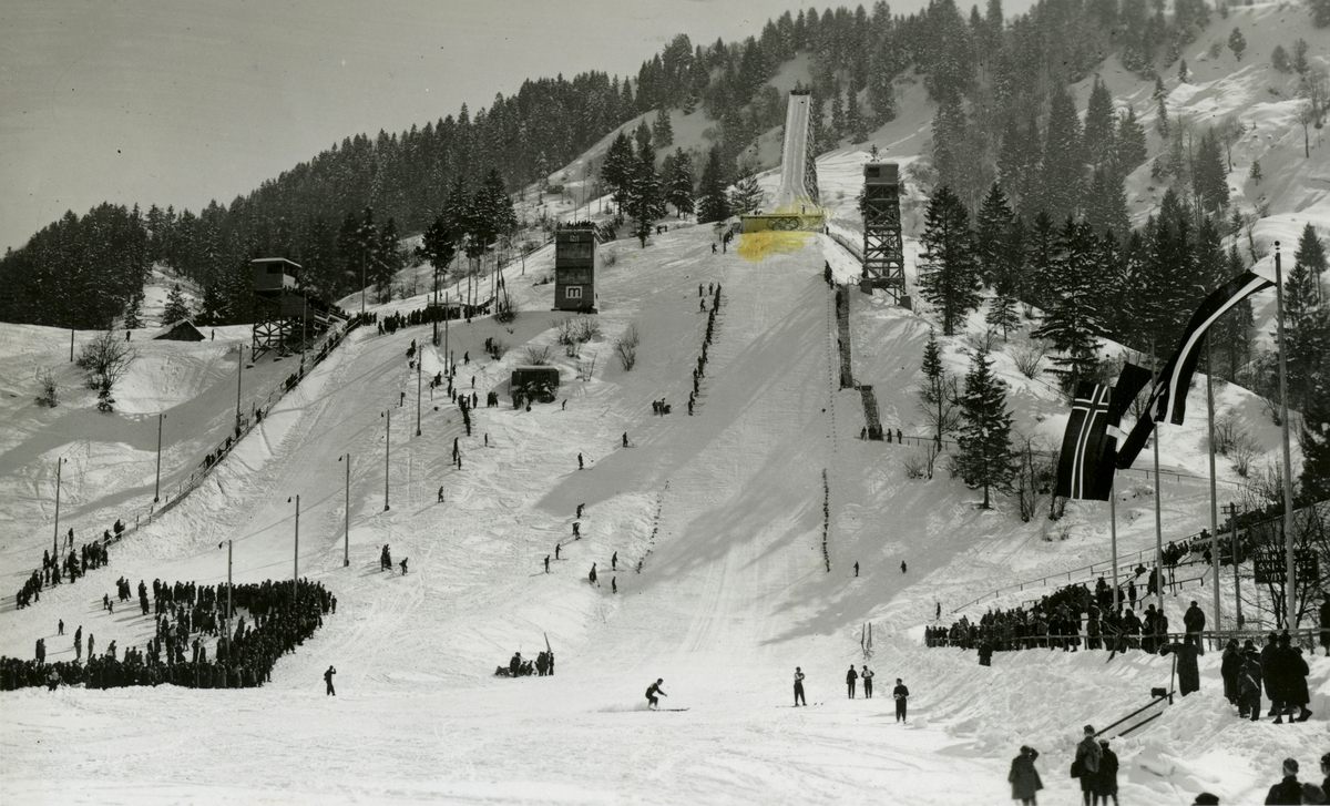 Ski jumping facilities at Garmisch