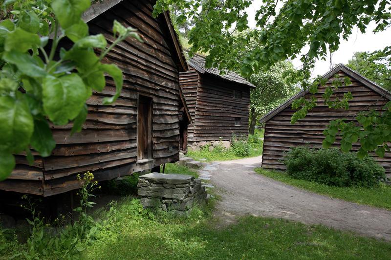 Hardangertunet på Norsk Folkemuseum (Foto/Photo)