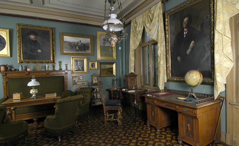 Ibsens arbeidsværelse. Foto/Photo