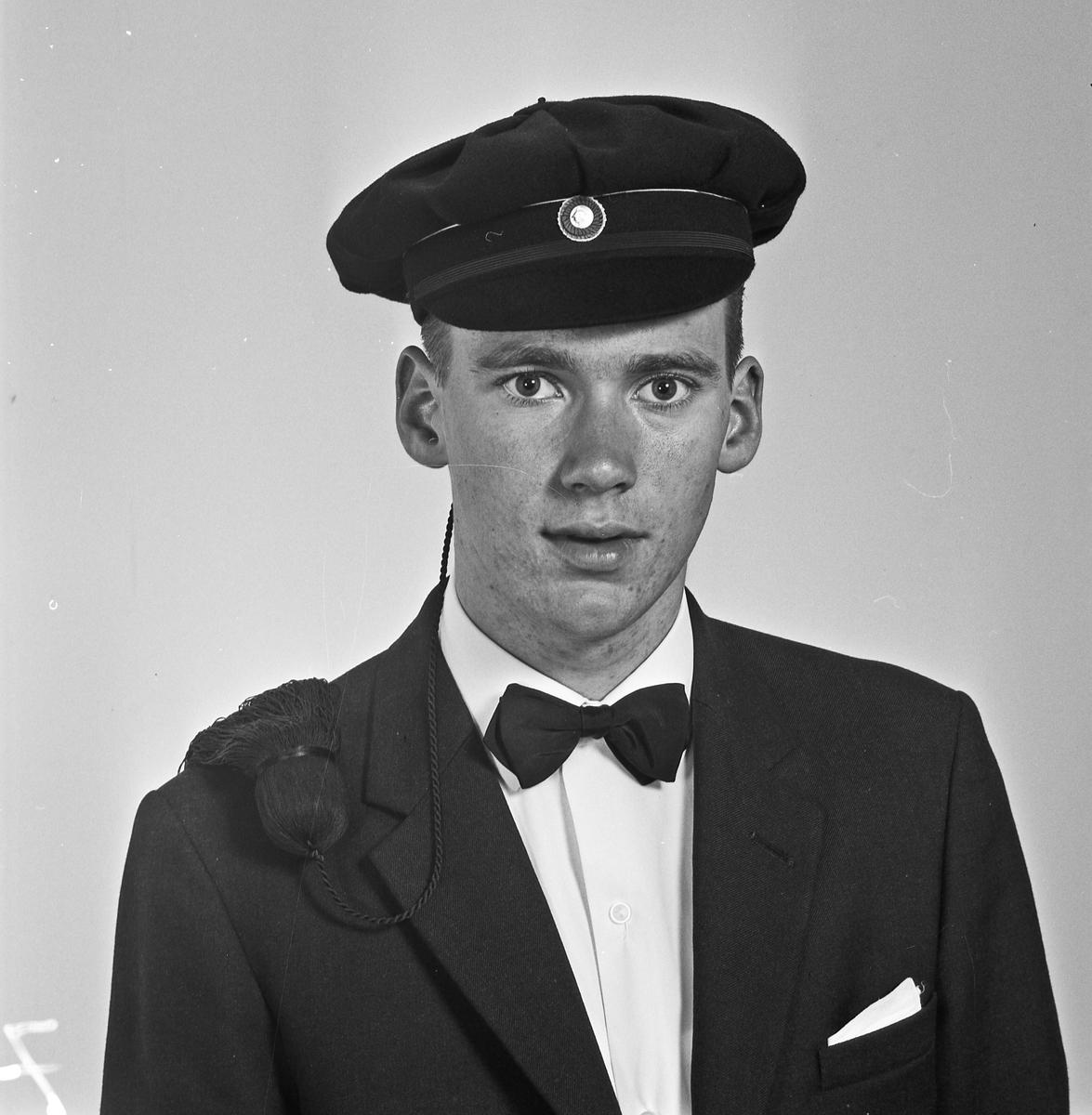 Portrett ung mann med russelue - bestiller Jan Hermansen