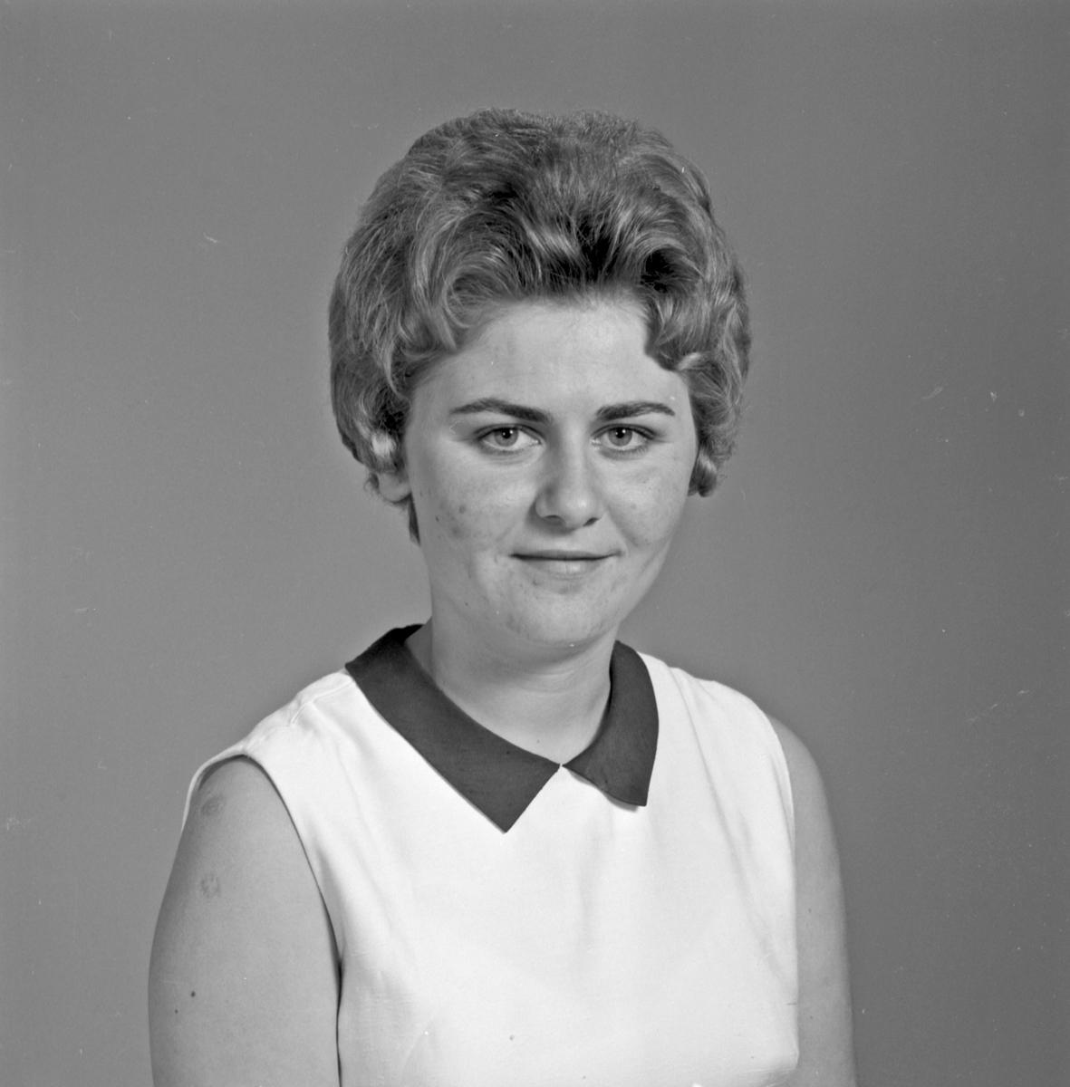 Portrett ung kvinne - bestiller Margoth Staueland