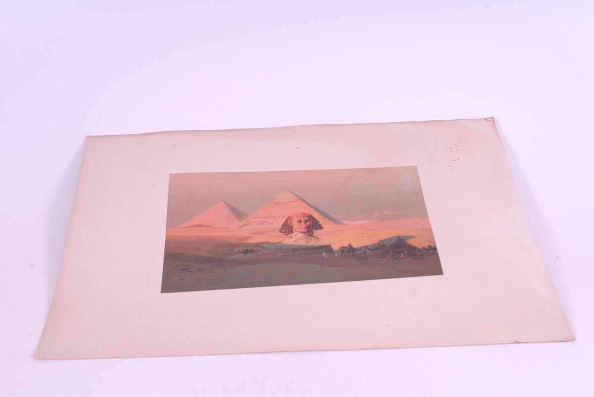 pyramider og sfinx