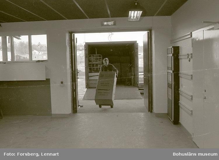 Bohusläns museum 1981-1984. Flytt från gamla till nya museet