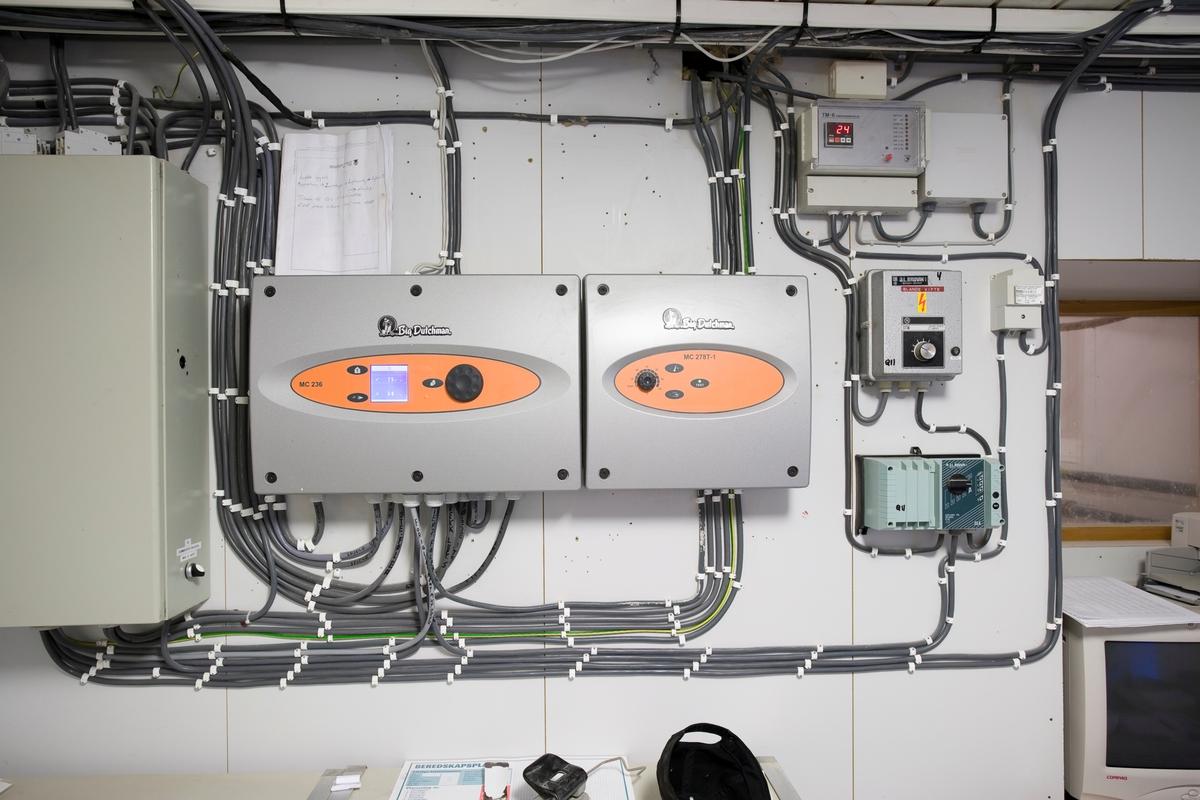 Elektriske installasjoner i kylling klekkeri