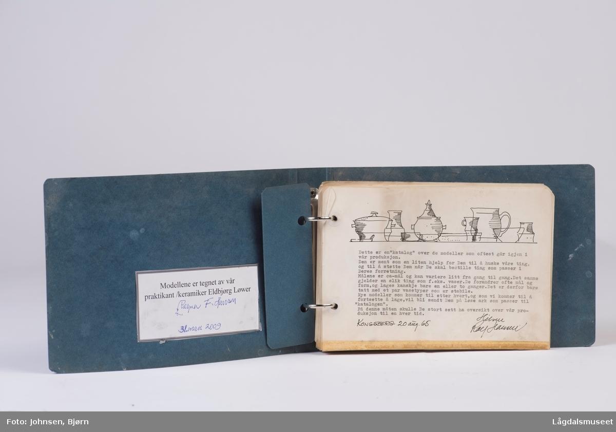 Katalogen består av ulike modeller av Rolf Hansens verk.
