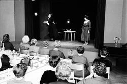 Luciafirande - Bondkyrko husmodersförening, Uppsala 1962