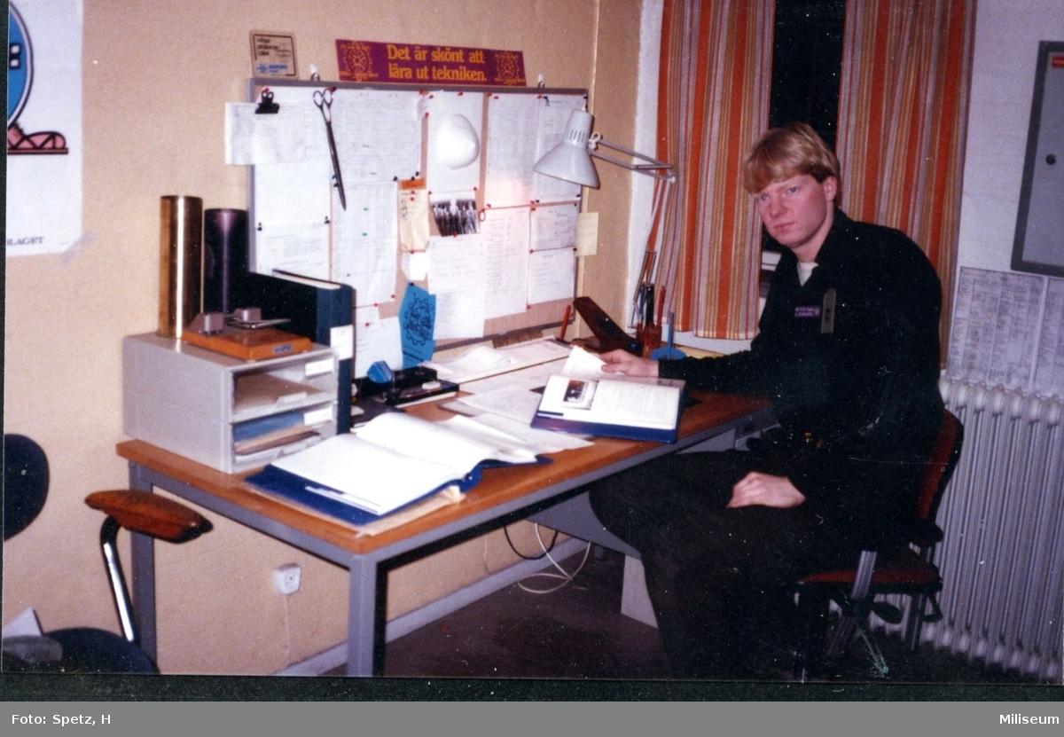 Johansson, Anders. Löjtnant. Tekniska detaljen, A 6.