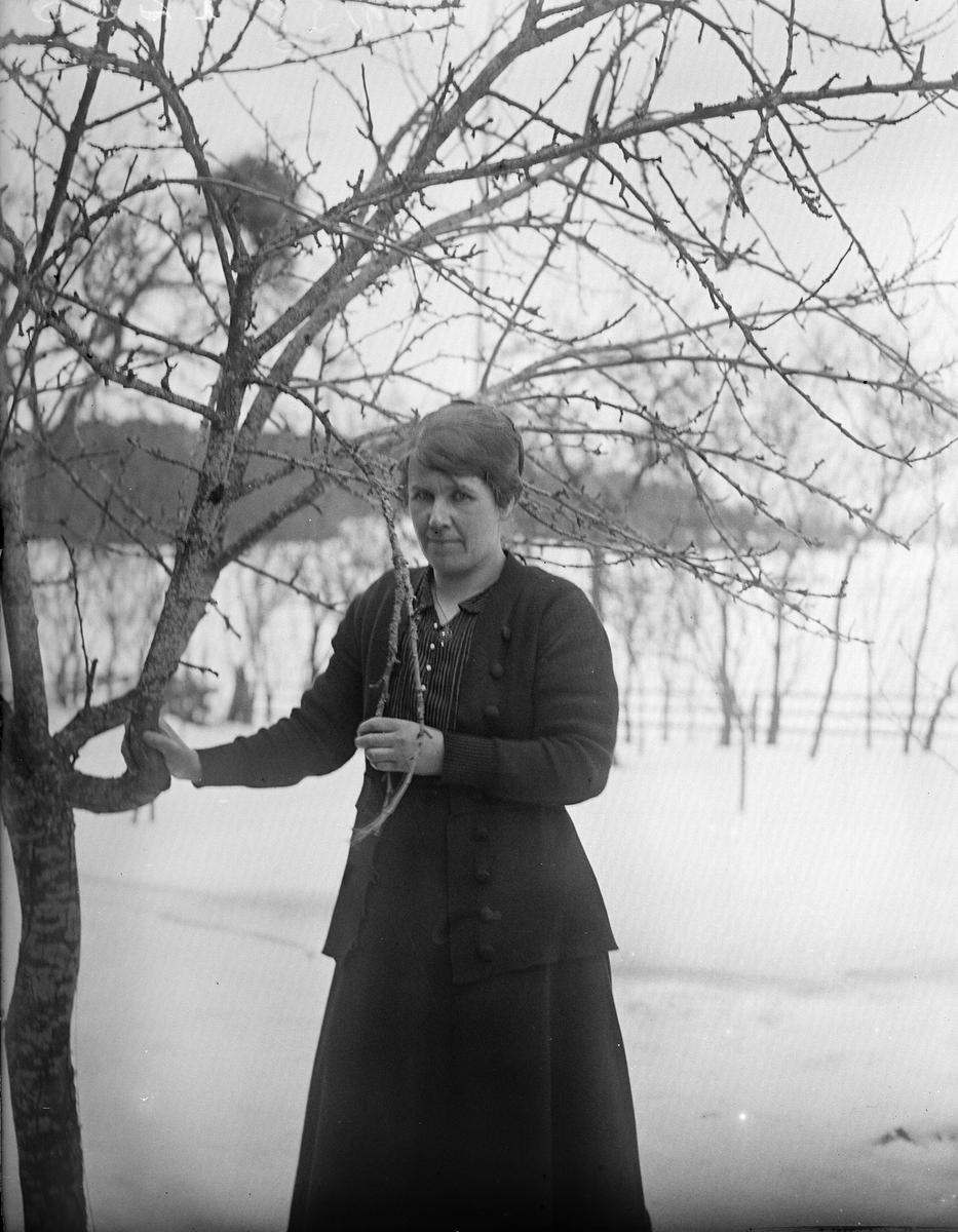 Elin Västberg, Uppland 1919