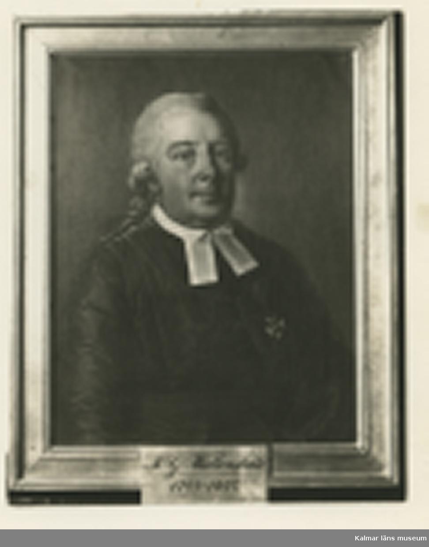 M.G.Wallenstråle 1789-1807 Foto:Winells Atelje Biskop i Kalmar 1789-1807.