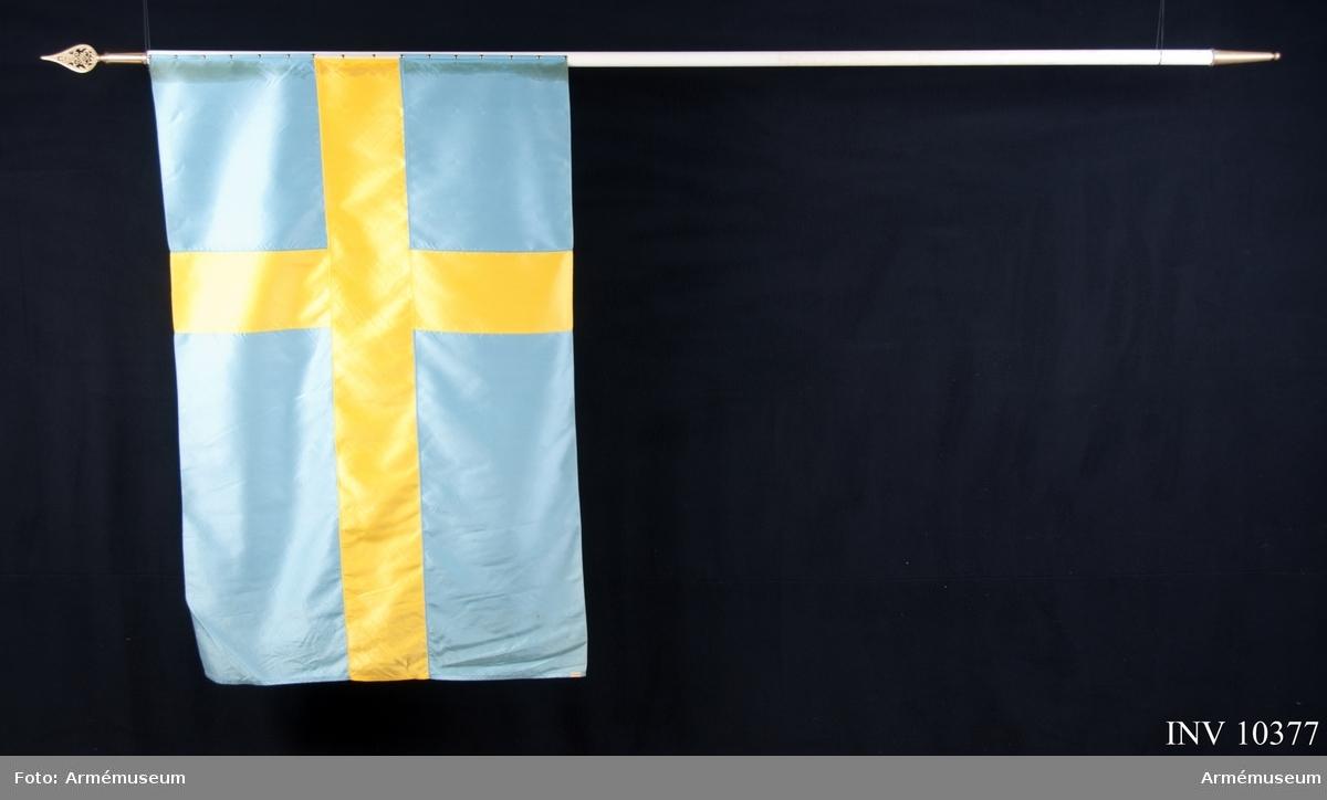 Grupp B I. Fana för 1:a Intendenturkompaniet -1949. Samhörande fodral och kravatt finns.
