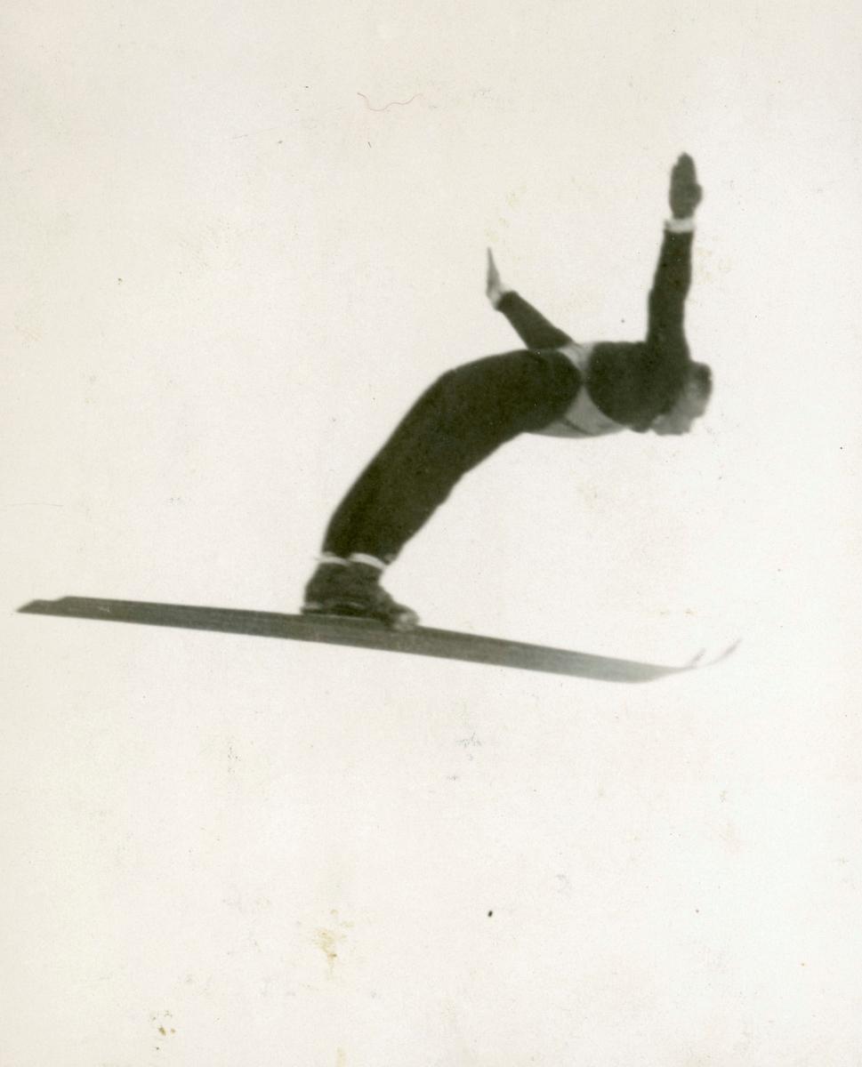 Kongsberg skier Henning Tønsberg in action