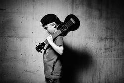 Gutt med mandolin (Foto/Photo)