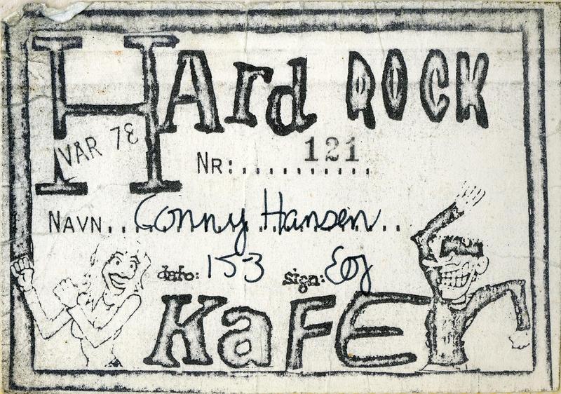 Medlemskort - Hard Rock Kafé (Foto/Photo)