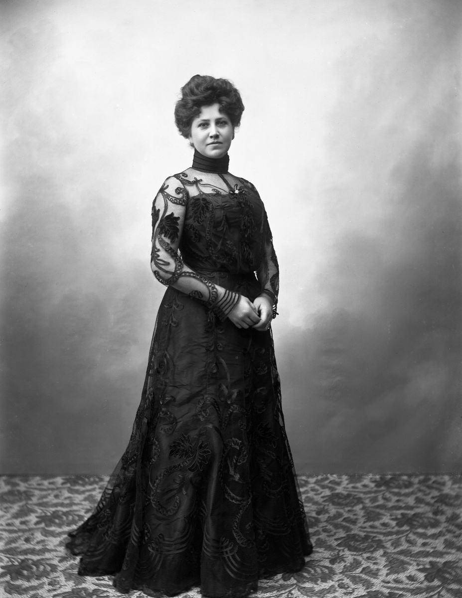 Fru Greta Odén, gift med direktören på stadshotellet konsul Henry Odén.