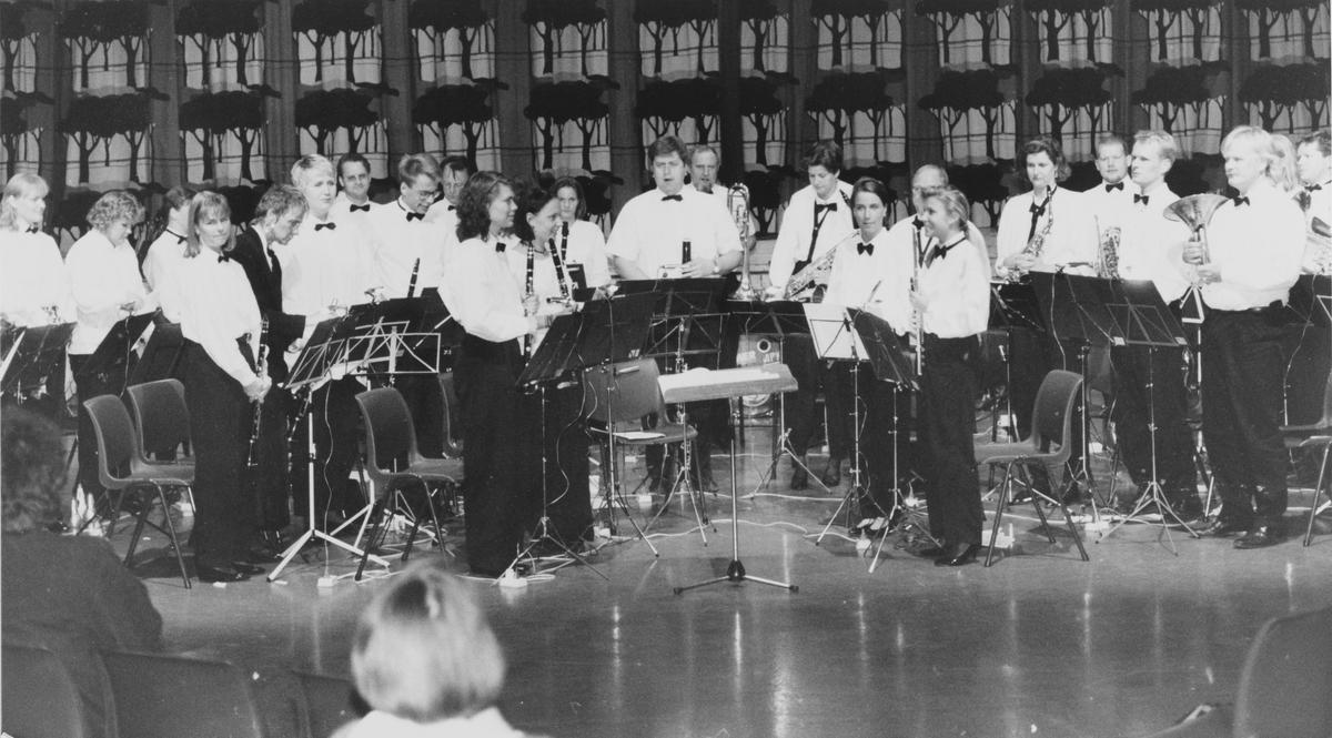 Nittedal og Hakadal janitsjar, konsert i Bjertnesaulaen