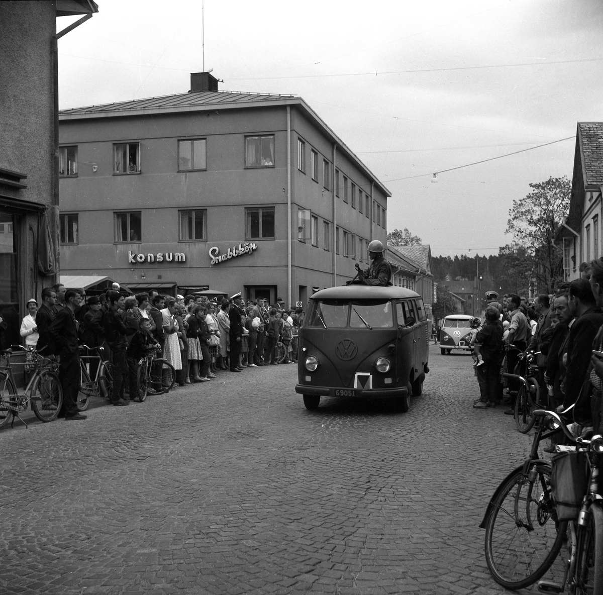 Kyrkogatan–Hamngatan i Arvika 60-05-19.