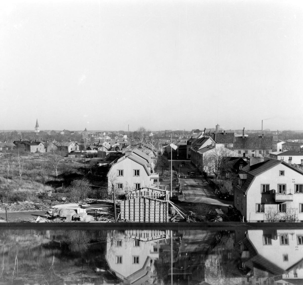 Fryksdalsgatan i mitten på 1950-talet.