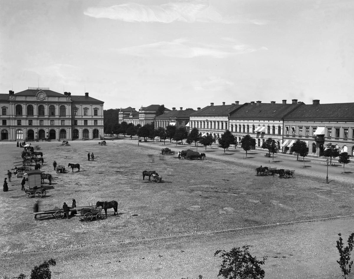 Stora Torget  i slutet av 1890-talet.