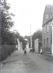 Molinsgatan sedd i riktning mot Slottsvägen.