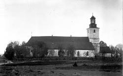 Munktorps kyrka. Reproduktion KJ Österberg.