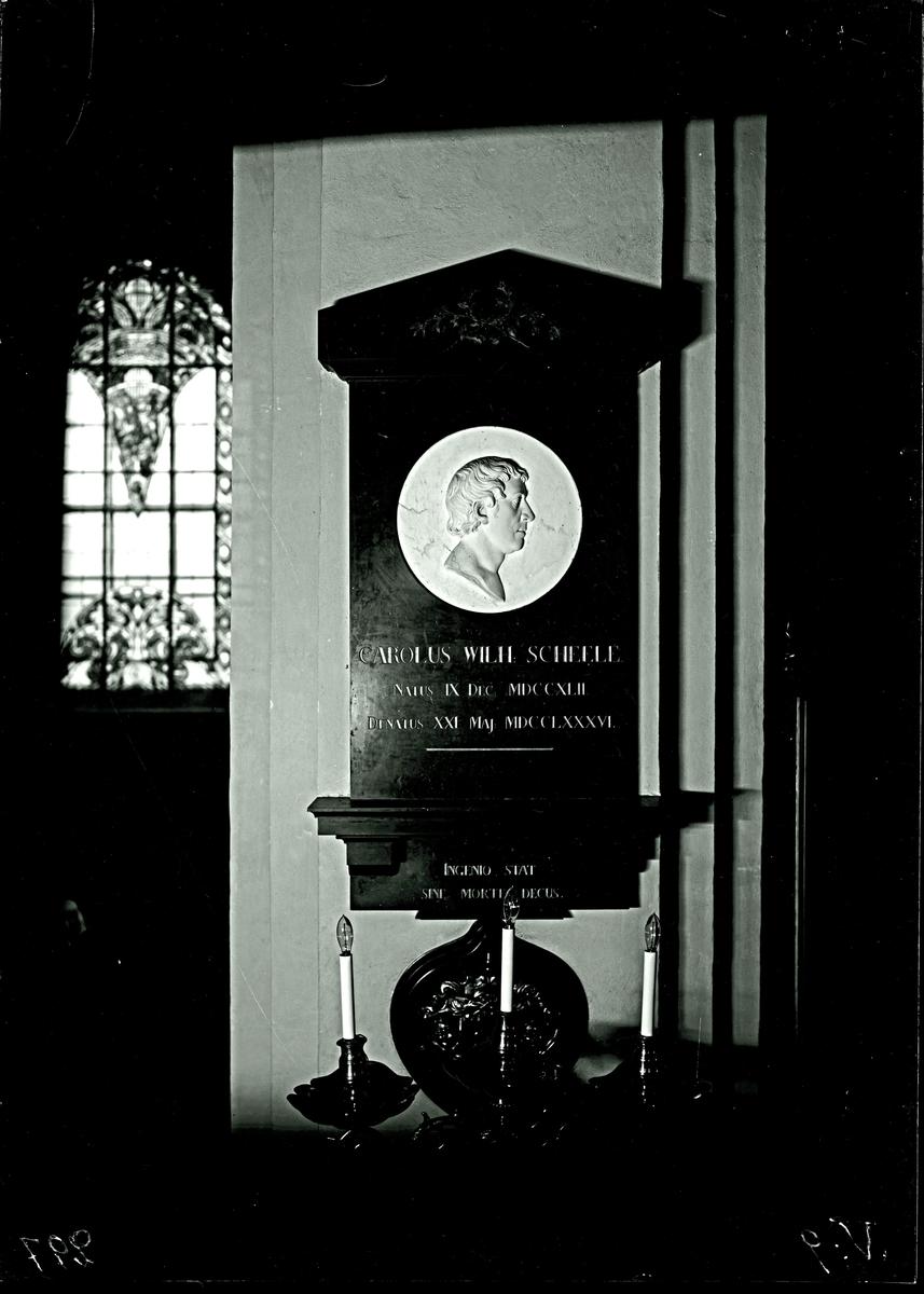 Scheele, Epitafiet. Fotograf E Sörman.