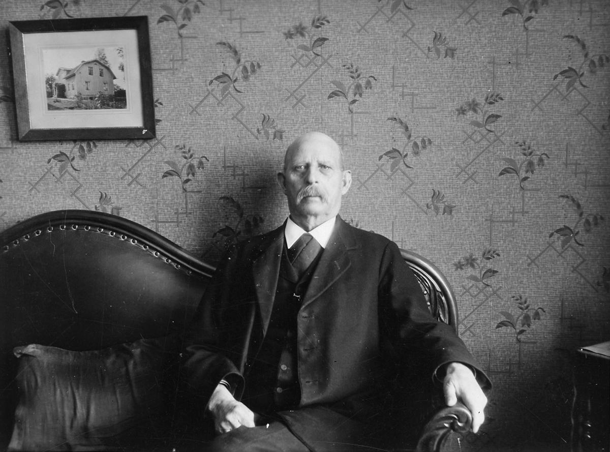 Banmästare A G Johansson, Kolbäck