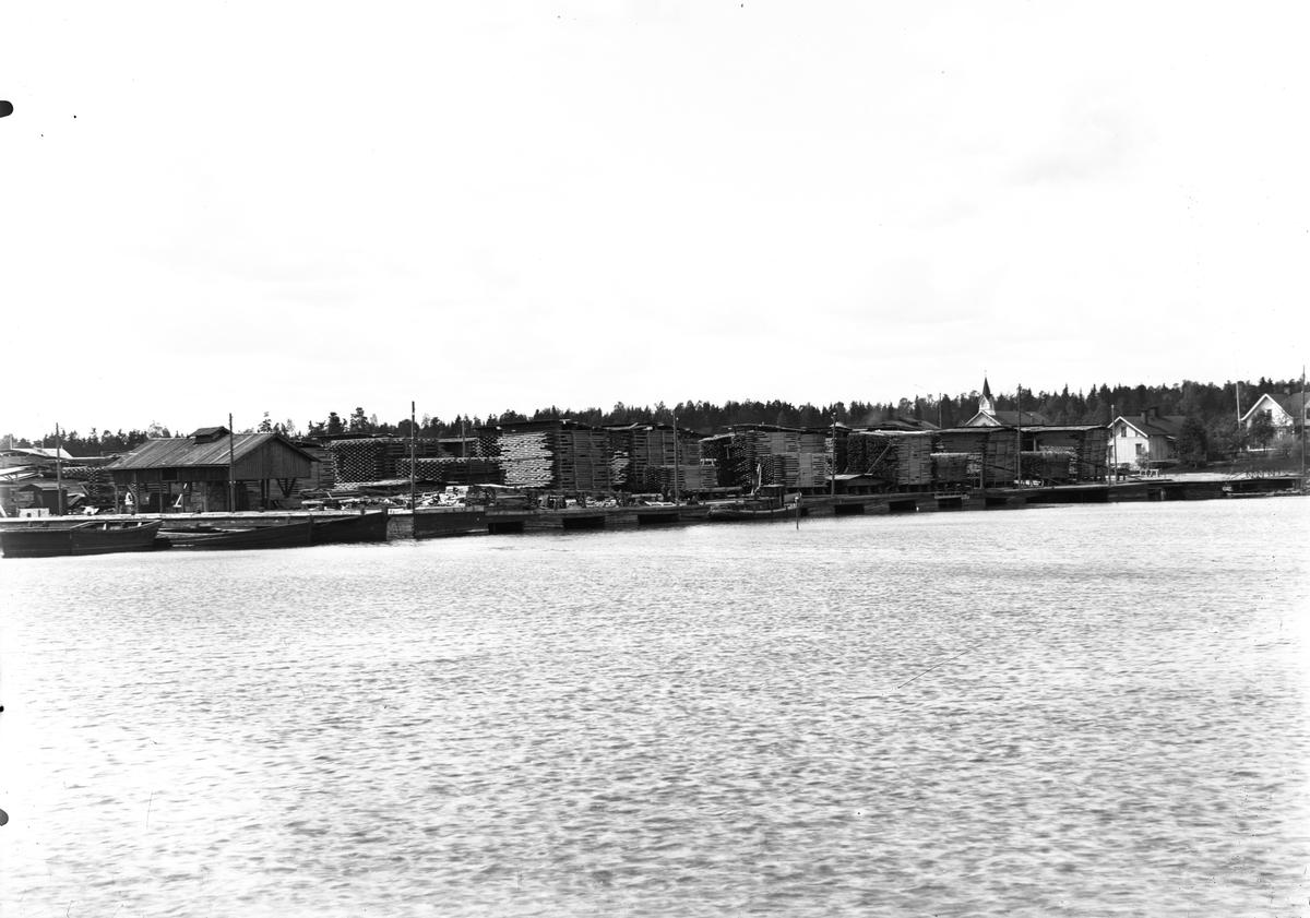 Hamnen i Norrsundet.