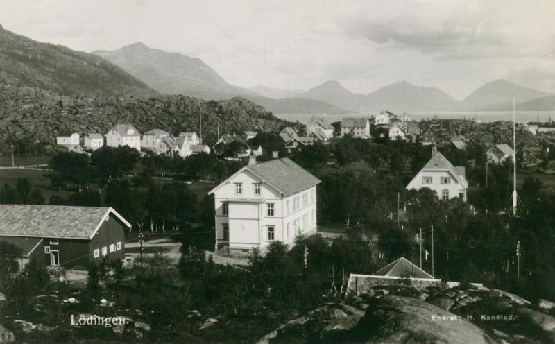Telegrafstasjoner. Lødingen historisk eksteriør