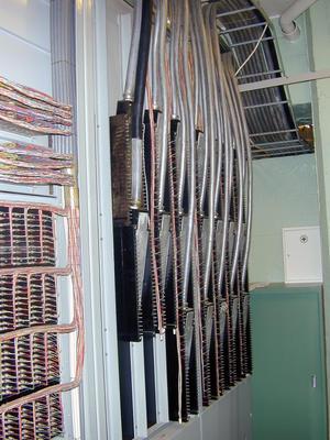 Telefonsentraler. Nødsentralen Åsen, interiør 2 (Foto/Photo)