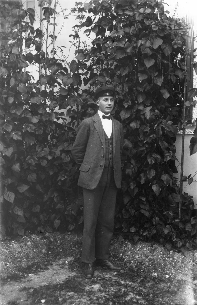 Knut Sundberg, förman på Lenninge herrgård.