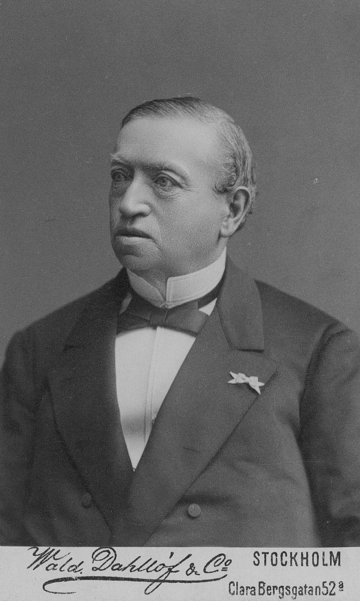 Konsul Frans Oscar Flensburg.